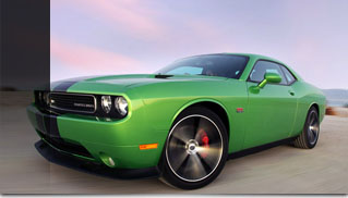2011 Dodge Challenger SRT8 392 Green With Envy - Muscle Cars Blog