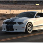 2011 Ford Mustang Shelby GT350 Massive Burnout