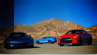 Drag Race - 2012 Nissan GT-R vs 2011 Chevy Corvette Z06 vs 2011 Shelby GT500 - Muscle Cars Blog