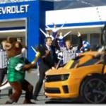 Chevrolet in Super Bowl XLV Commercial (Camaro Transformers)