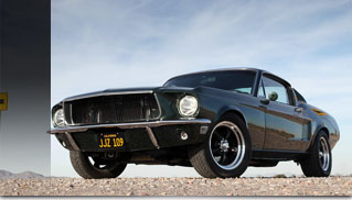 Limited Edition 1968 Steve McQueen Signature Mustang - Muscle Cars Blog