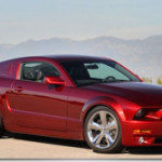 Lee Iacocca's 45th Anniversay Ford Mustang in Candy Apple Red