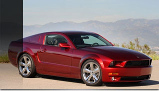 Lee Iacocca's 45th Anniversay Ford Mustang in Candy Apple Red - Muscle Cars Blog