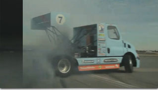 Mike Ryan is drifting Freightliner ala Ken Block - Muscle Cars Blog