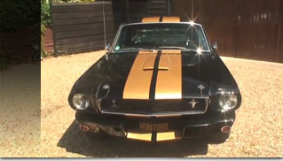 1966 Ford Mustang Fastback Shelby GT350 Hertz Recreation - Muscle Cars Blog