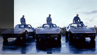 Commemorating 50 Years of Corvettes and Astronauts - Muscle Cars Blog