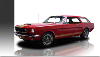 1965 Ford Mustang Station Wagon 5.0L - Muscle Cars Blog