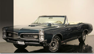 1967 Pontiac GTO Convertible - Muscle Cars Blog