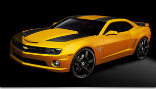New 2012 Chevrolet Camaro Bumblebee Edition - Muscle Cars Blog
