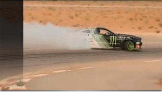 Vaughn Gittin Jr: Drifting In The K.S.A. - Muscle Cars Blog