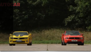 Chevrolet Camaro SS vs. Ford Mustang Boss 302 - Muscle Cars Blog