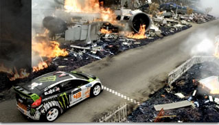 Ken Blocks Gymkhana FOUR H.F.H.V. Fiesta with Ford SYNC - Muscle Cars Blog