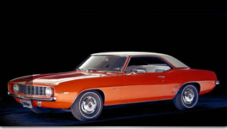 1969 Camaro Named Best Chevy of All Time - Muscle Cars Blog