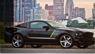 Roush Stage 3 Hyper-Series Ford Mustang for 2012 - Muscle Cars Blog