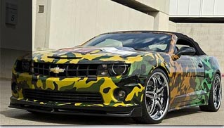 2011 Chevrolet Camaro by WCC Auctioned - Muscle Cars Blog