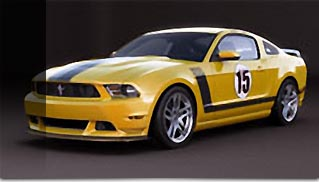 A one-of-a-kind 2012 Mustang Boss 302 Laguna Seca - Muscle Cars Blog
