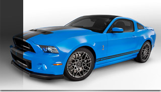 2013 Ford Shelby GT500 Debuts As Most Powerful Production V8 - Muscle Cars Blog