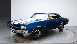 1970 Chevrolet Chevelle SS LS5 Convertible - Muscle Cars Blog