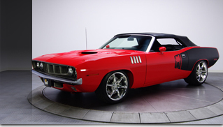 1971 Plymouth Viper Custom Cuda Convertible 8.0 Liter Viper V10 6 Speed - Muscle Cars Blog