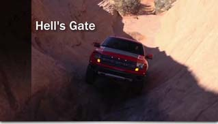 2012 Ford F-150 SVT Raptor on Hell's Revenge Trail in Moab, Utah - Muscle Cars Blog