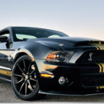 50 years Shelby with Anniversary Edition Mustangs