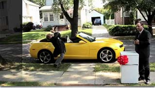 Camaro &quot;Chevy Happy Grad&quot; for Super Bowl ad - Muscle Cars Blog