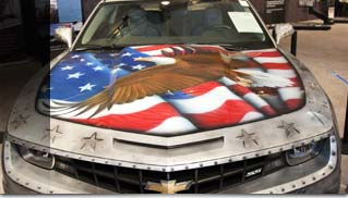 Military Camaro Sold for $175,000 at Barret-Jackson - Muscle Cars Blog