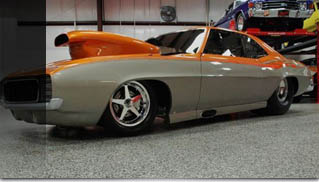 1969 Chevrolet Camaro Custom Drag Rad Rides by Troy - Muscle Cars Blog