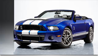 New 2013 Ford Shelby GT500 Convertible for SVT 20th Anniversary - Muscle Cars Blog