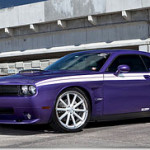 Dodge Challenger and 22″ Vossen Wheels CV1s!