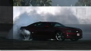 Stuntbusters - Chevy Camaro SS Burnout At 1000 FP - Muscle Cars Blog