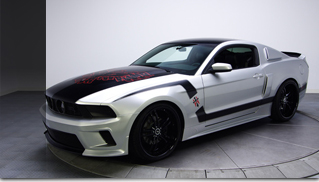 Tony Hawk &quot;Hawkized&quot; 2011 Ford Mustang GT 5.0 - Muscle Cars Blog