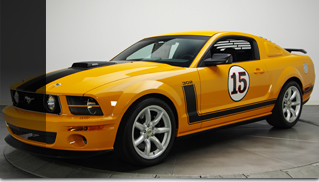 2007 Ford Saleen Mustang Parnelli Jones 302 - Muscle Cars Blog