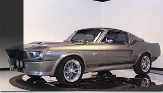 1967 Ford Shelby GT500E SuperSnake Eleanor - Muscle Cars Blog