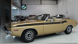 1971 Dodge Challenger 340 Convertible MOD SQUAD - Muscle Cars Blog