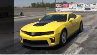 2012 Lingenfelter Camaro ZL1 Hits 202 MPH - Video - Muscle Cars Blog