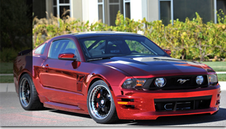 "2012 Ford Mustang Creations n' Chrome's ""Boy Racer"" Goes Fast - Muscle Cars Blog"