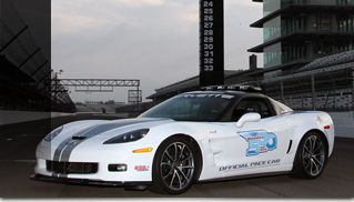 2013 Chevrolet Corvette ZR1 will be the pace car of the 96th Indianapolis 500 - Muscle Cars Blog