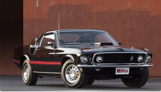 1969 Ford Mustang MACH 1 428 - Muscle Cars Blog
