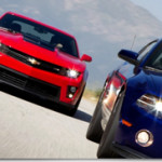 2012 Chevrolet Camaro ZL1 vs. 2013 Ford Mustang Shelby GT500 Track Test Video