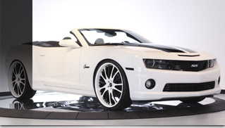 2011 Chevrolet Camaro SS Convertible Celebrity Edition - Muscle Cars Blog
