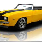 1969 Chevrolet Camaro SS – Pro Touring Convertible 502