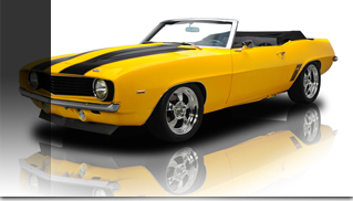 1969 Chevrolet Camaro SS - Pro Touring Convertible 502 - Muscle Cars Blog