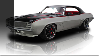 1969 Chevrolet Camaro LS2 550 HP - The Punisher - Muscle Cars Blog