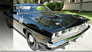 1971 Plymouth Barracuda 440 Six Pack - Muscle Cars Blog