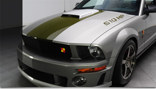 2009 Ford Mustang Roush P-51b - Muscle Cars Blog