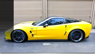 2012 Chevrolet Corvette ZR1 on ADV.1 Wheels - Muscle Cars Blog
