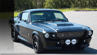 1967 Ford Mustang Shelby GT 500E - Muscle Cars Blog