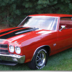1970 Chevrolet Chevelle SS LS6 – Red on Red