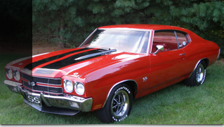 1970 Chevrolet Chevelle SS LS6 - Red on Red - Muscle Cars Blog